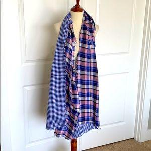 American Colors Alex Lehr Reversible Blanket Scarf